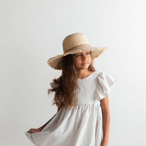 Kids Straw Floppy Hat