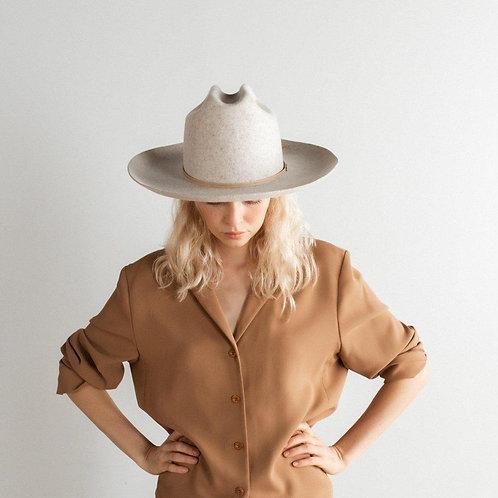 Ezra Western Hat -Grey