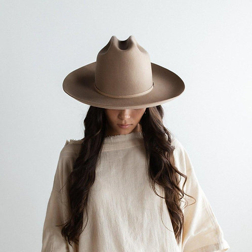 Ezra Western Hat - Tan