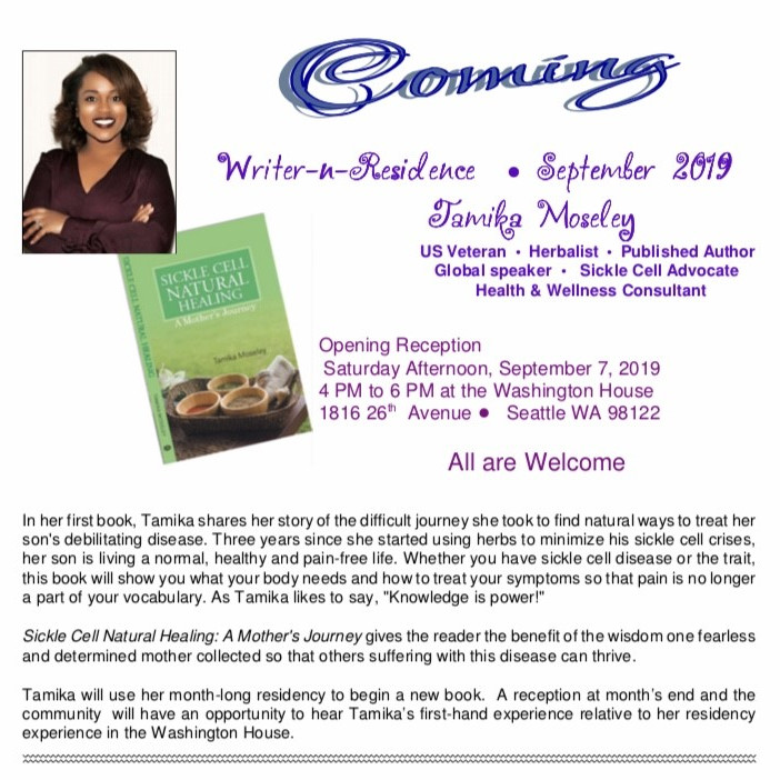Writer In Residence Program