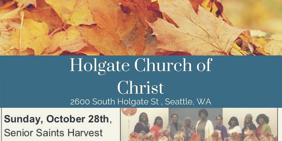 Senior Saints Harvest