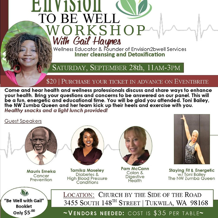 Envision To Be Well Workshop