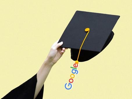 O Google tem um plano para transformar a educação superior