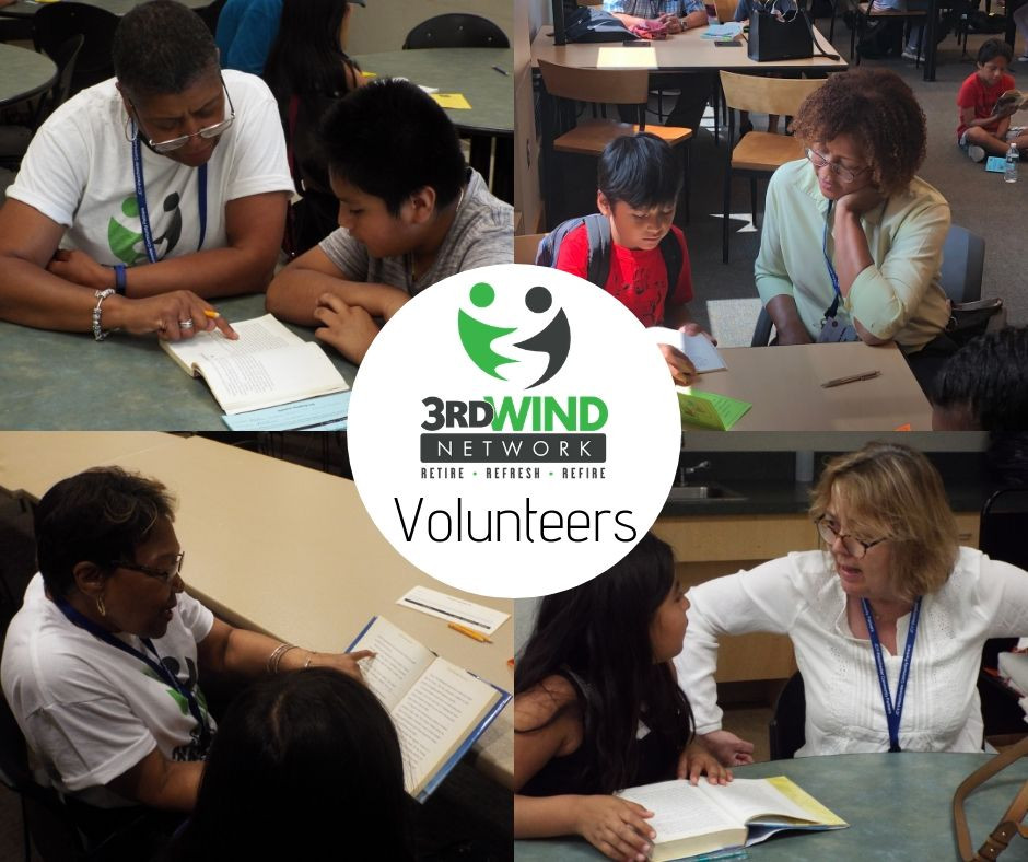 3rd Wind Network volunteers with Summer Reading Buddies