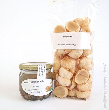 Court-bouillon Escargots 4dz + Croquilles