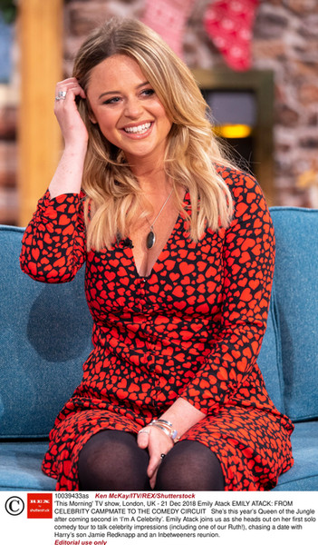 Emily Atack, This Morning