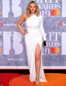 Emily Atack, The Brit Awards 2019