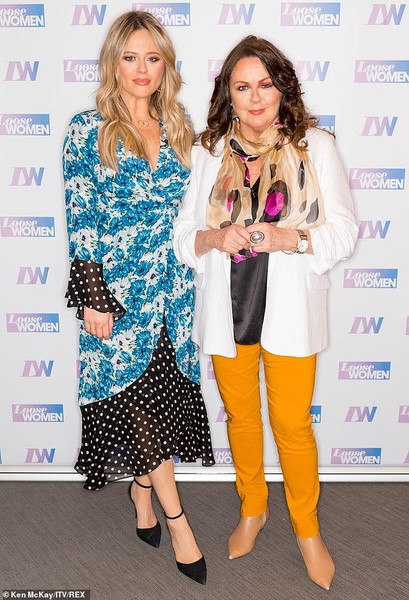 Emily Atack and Kate Robbins, Loose Women April 2019
