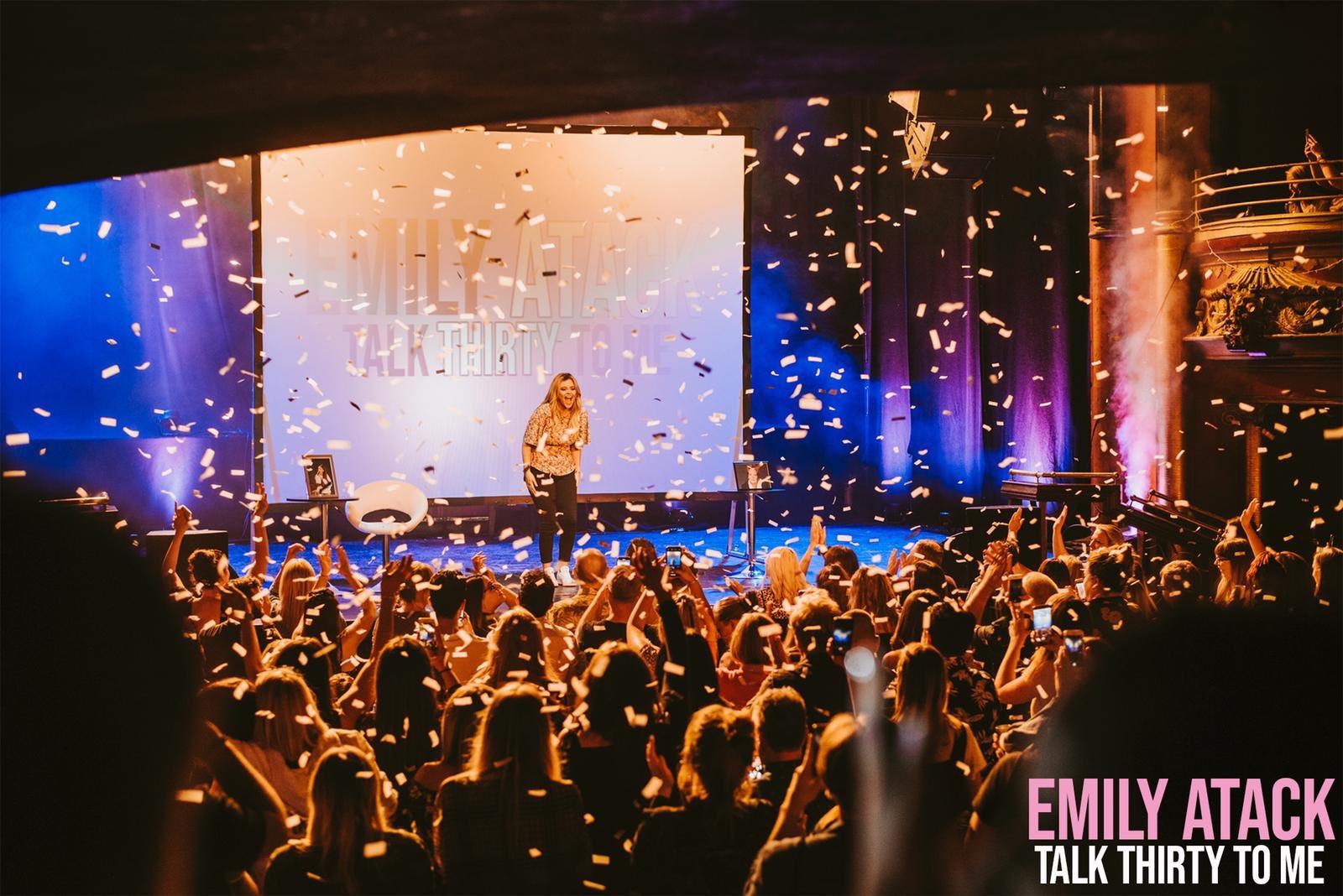 Emily Atack 'Talk Thirty To Me' Tour