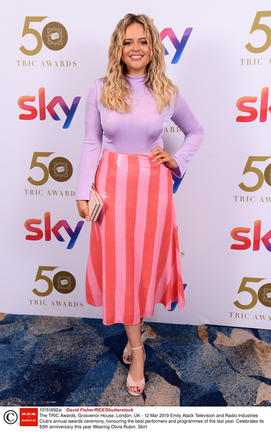 Emily Atack, TRIC Awards