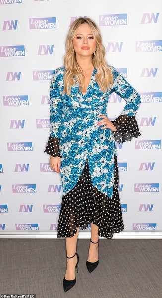 Emily Atack, Loose Women April 2019