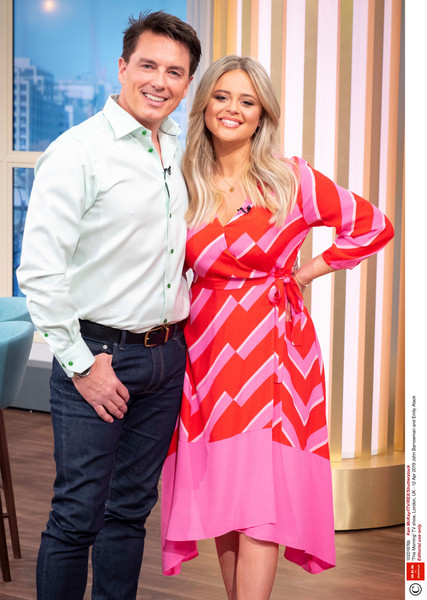 Emily Atack, This Morning April 2019