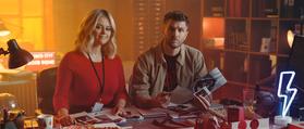 Joel Dommett, Emily Atack ITV2 Blood Squad