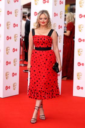 Emily Atack BAFTA 2019