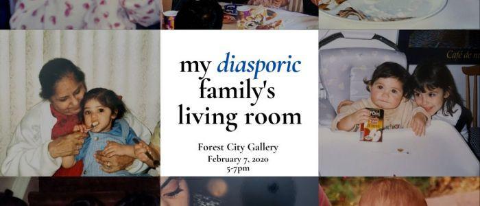 My Diasporic Family's Living Room: Part 1