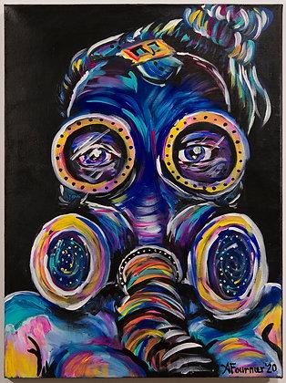 46. Gas Mask, Alicia Fournier