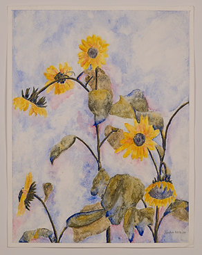 31. Sunflowers, Jordan Nesbitt