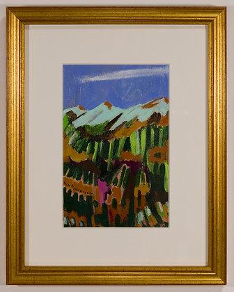 34. August Landscape, Ben Benedict