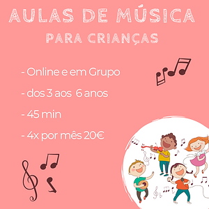 aulas de música para crianças ana amaro