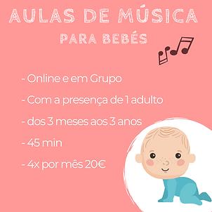 aulas de música para bebés ana amaro
