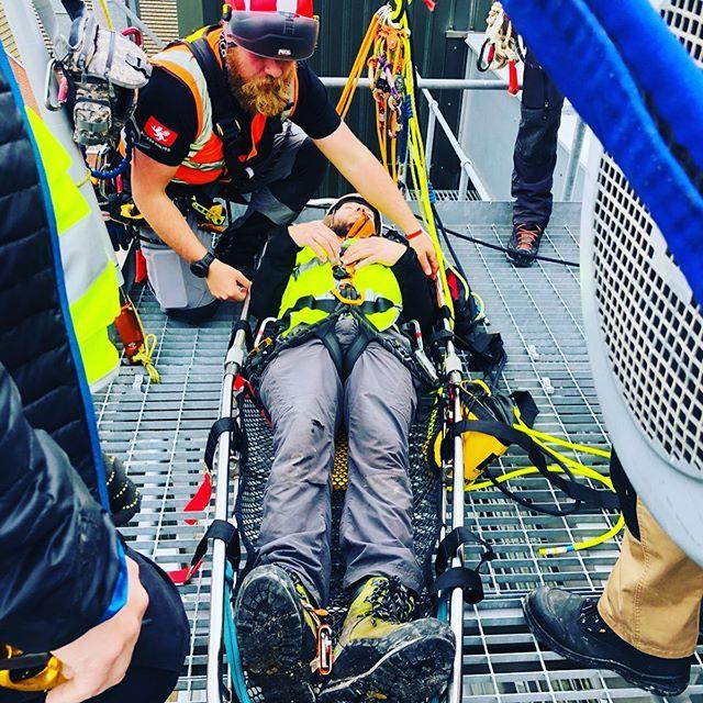 Day 3 on Advanced Rigging & Rescue Course