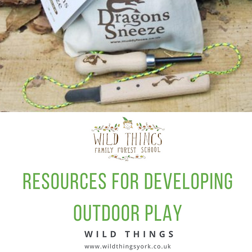booklet - resources to support outdoor play