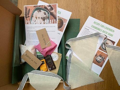 Pamper & Craft Box