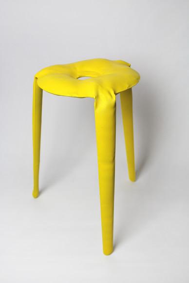 Cast chair   Aluminium