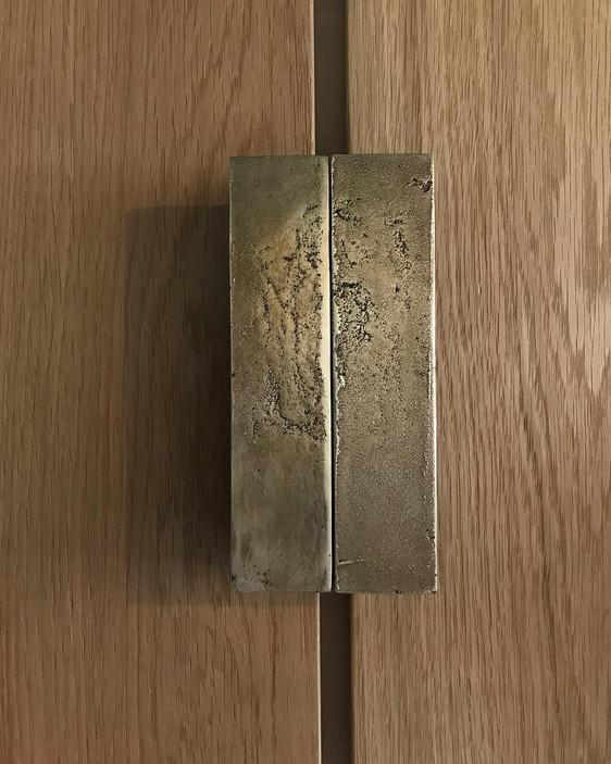 Door handle   Bronze