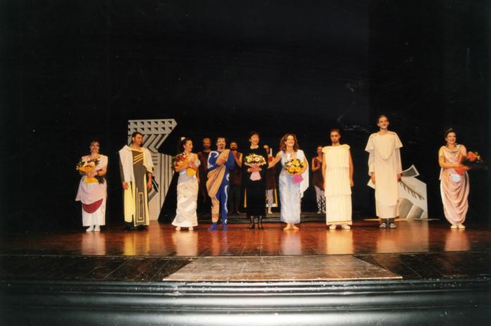 """Prima rappresentazione di AGNODICE al Teatro """"Manzoni"""" di Pistoia ad opera del GAD città di Pistoia"""""""
