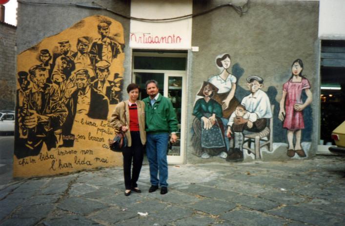 Con Moreno a Orgosolo, 1989