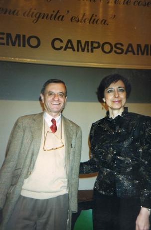 Con il poeta Fernando Bandini