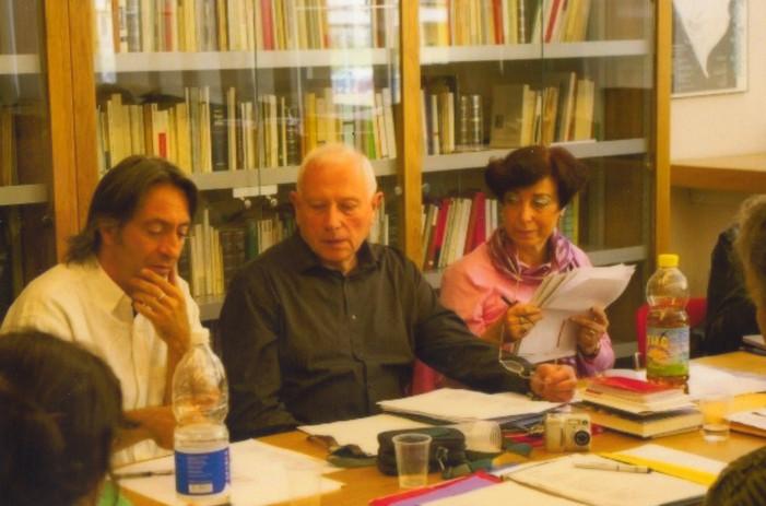 Con i poeti André Ughetto e Roger Bastide