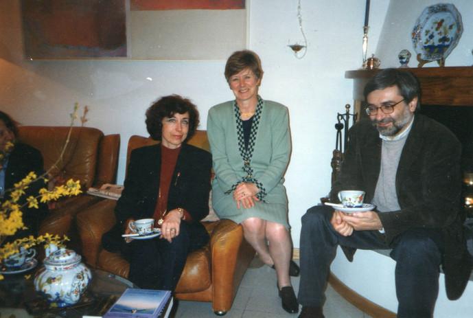 Con la traduttrice e saggista irlandese Catherine O'Brian