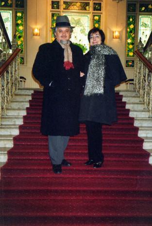 Con Moreno al Grand Hotel di Lund,