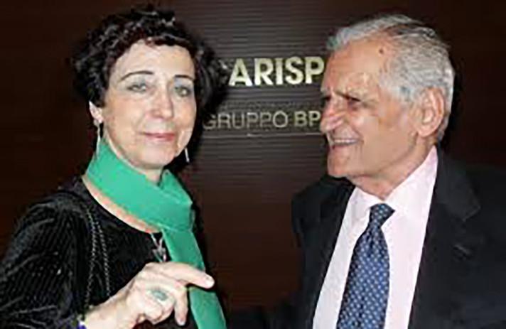 """Premio Internazionale """"L'Aquila 'L. Bonanni'"""" per la poesia, con il poeta greco Titos Patricos"""