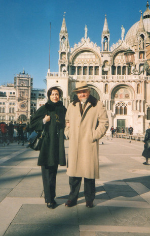 Con Moreno in Piazza San Marco