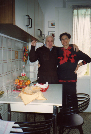 Con il traduttore russo Lev Verscinin