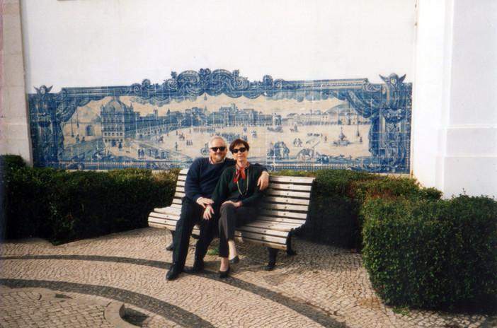 Con Moreno a Lisbona, 2000