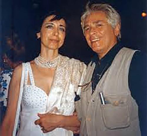 Al Castello Aragonese con il regista Tato Russo per ritirare il Premio magna Grecia