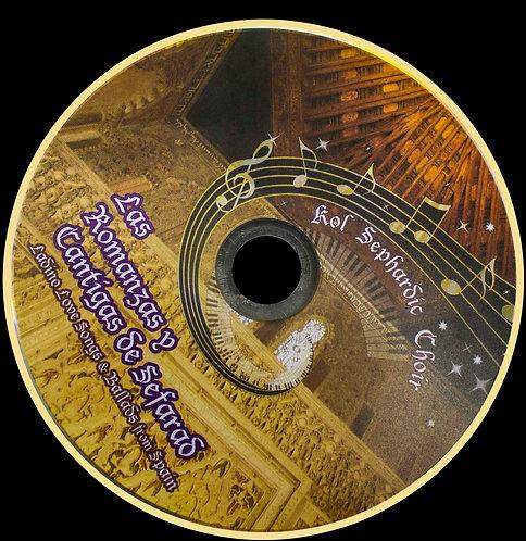 """Audio CD """"Las Romanzas y Cantigas de Sepharad"""""""