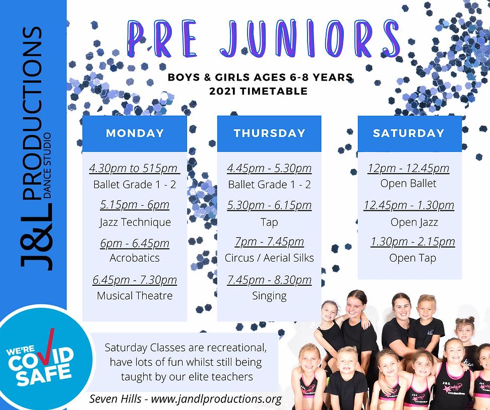 PRE JUNIOR Class schedule.png