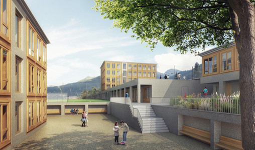 Schulanlage Klosters, 2014