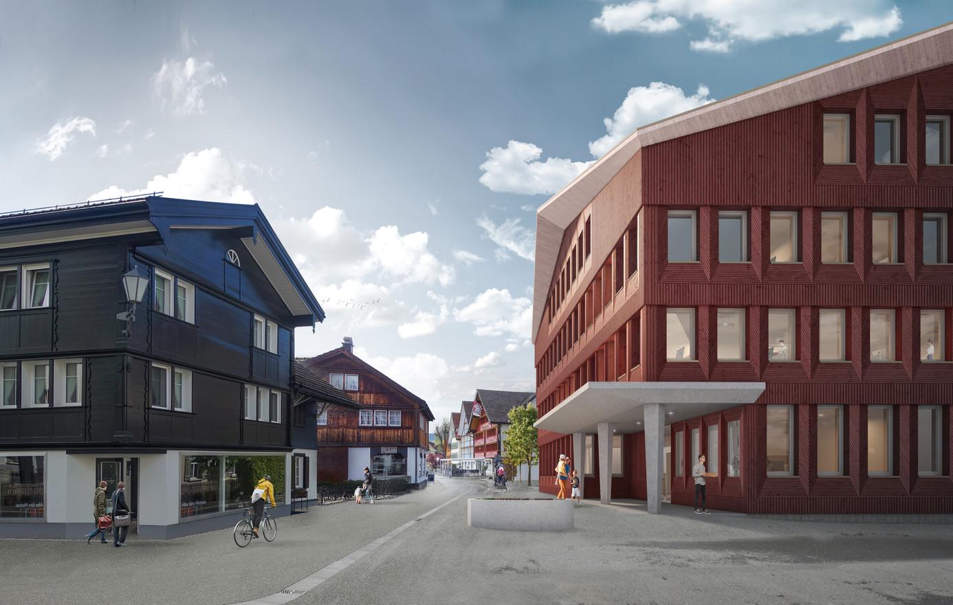 Verwaltungsgebäude Appenzell, 2020