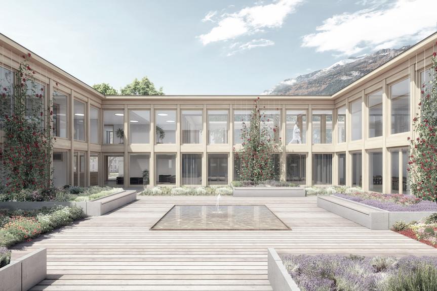 Erweiterung Klinik Waldhaus Chur, 2016