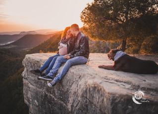 Sessió d'embaràs a Roques Albes