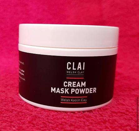 AlvaClai Cream powder mask