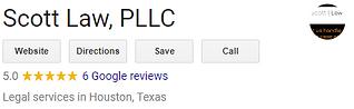 google reviews Scott Law Houston.PNG