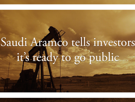 Saudi Aramco tells investors it's ready to go public