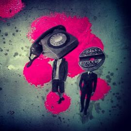 myhovercraft - street art by orit mizne.